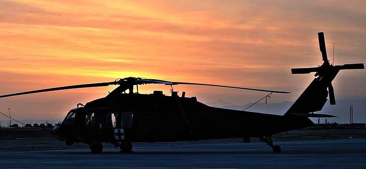 BlackHawk Sunrise V by Joshua Burcham