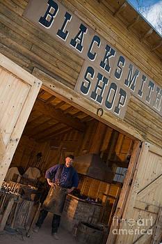 Blacksmith shop by Cynthia Holling-Morris