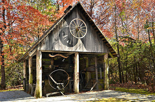 Blacksmith Shop by Susan Leggett