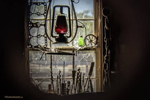 LeeAnn McLaneGoetz McLaneGoetzStudioLLCcom - Blacksmith shop vintage