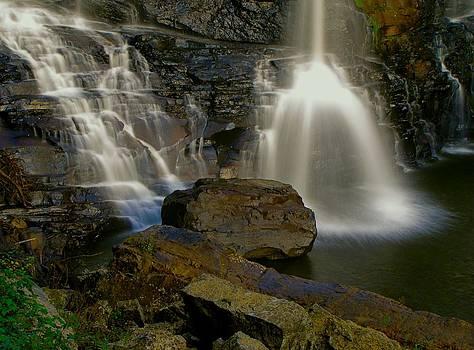 Blackwater Falls WV by Jennifer Wheatley Wolf