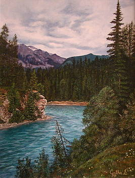 Blaeberry River by Cynthia Snider