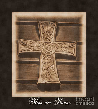 Bless our Home Cross by Eva Thomas