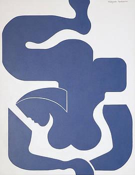 Bleu Sensation by Hildegarde Handsaeme