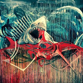 Blood in The Water by Elizabeth Dixon