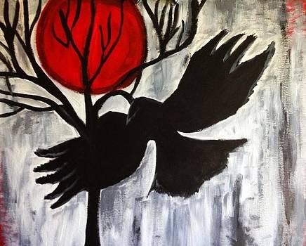 Blood moon  by Tiffany  Rios