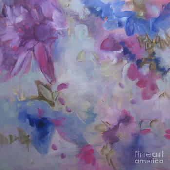 Blossoming V by Elis Cooke