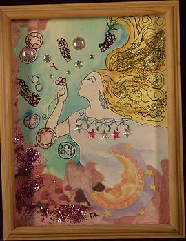 Blowing Bubbles by Kari Kline