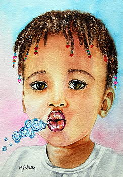 Blowing Bubbles by Maria Barry