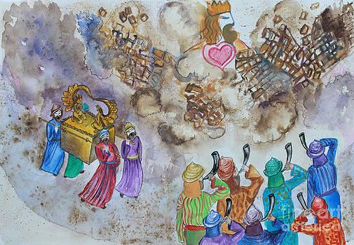 Anne Cameron Cutri - Blowing the Shofar at Jericho