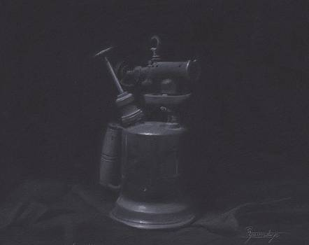 Blowtorch Study by Stephen Yavorski