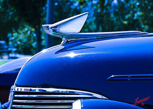 Blue 1939 Chevy by Charles Fennen