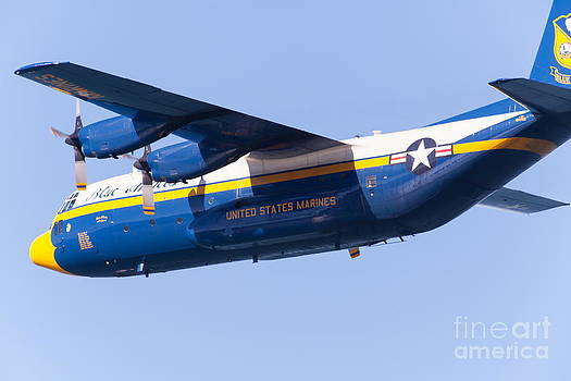 Wingsdomain Art and Photography - Blue Angels Fat Albert C130T Hercules At San Francisco Fleet Week 5D29565
