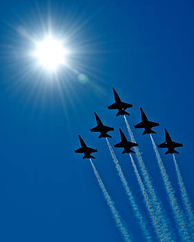 Blue Angels in the Sun by Jay Campbell