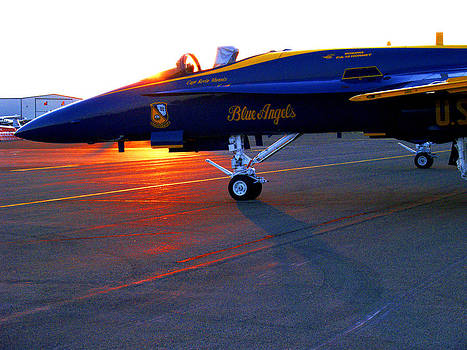 Blue Angels Sunrise by Rod Mathis