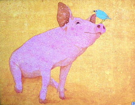 Blue Bird of Happiness by John Pinkerton