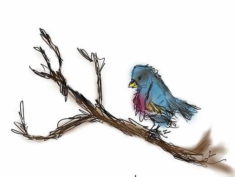 Blue Bird by Stephanie Haertling