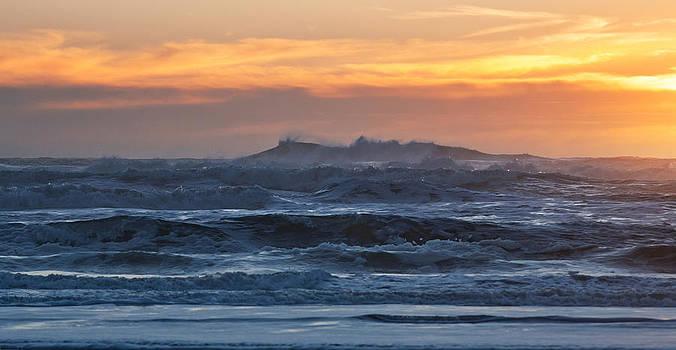 Daniel Furon - Blue Black Tide at Sunset