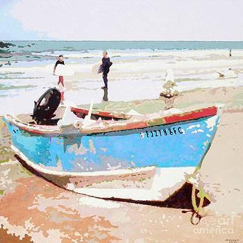 Blue Boat v.19 by Max Yamada