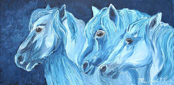 Blue Boyz by Michael Lee