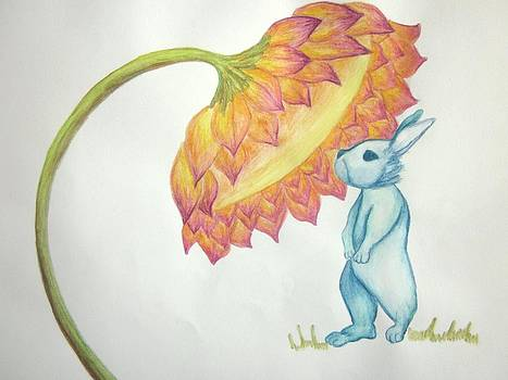 Blue Bunny by Cherie Sexsmith