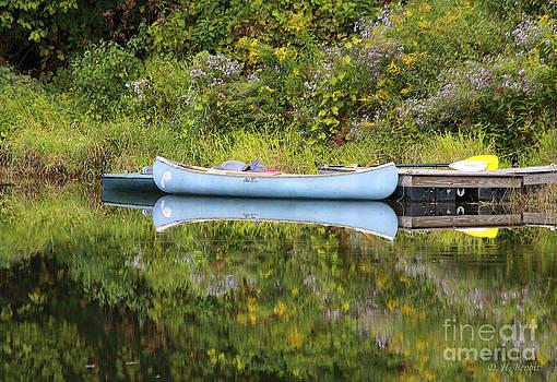 Deborah Benoit - Blue Canoe