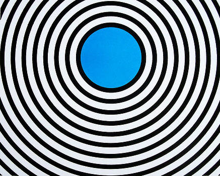 Blue Circle by Scott Shaver