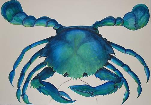 Blue Crab by Patti Lane