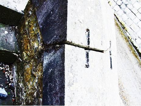 Blue cross by Isabelle Mbore