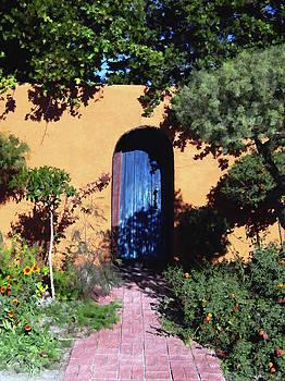 Kurt Van Wagner - Blue door at Old Mesilla
