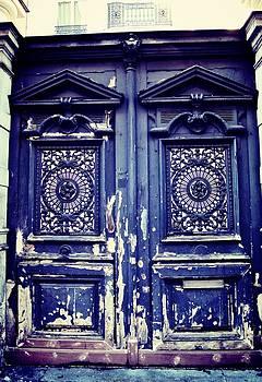 Blue Door by Paris Color
