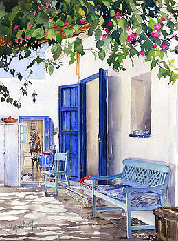Blue Doors by Margaret Merry