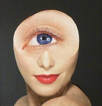 Blue Eye Beauty Cutie by Douglas Fromm