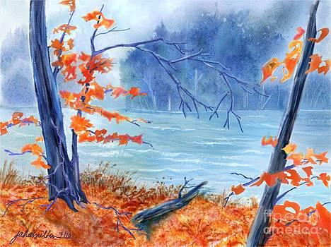Blue Fall  by Joan A Hamilton
