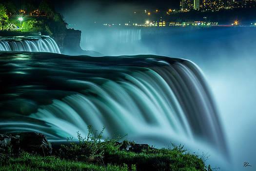 Blue Fall by Pat Scanlon