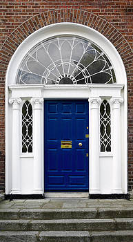 Jane McIlroy - Blue Georgian Door - Dublin - Ireland