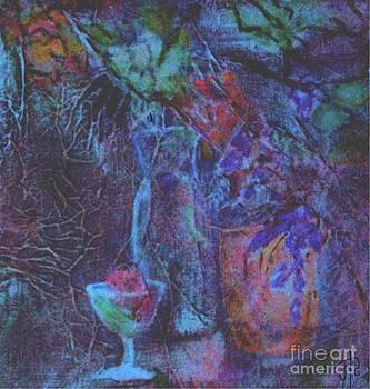 Blue Glass by Jill Roberts