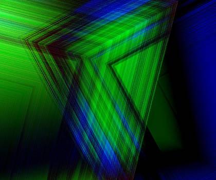 Blue Green by Anita Reynolds