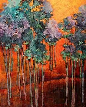 Blue Grove by Carol  Nelson