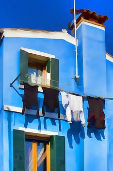 Blue House by Indiana Zuckerman