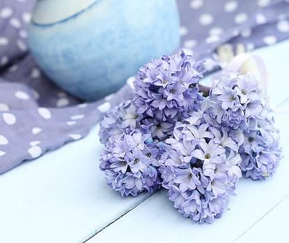 Blue Hyacinth 3 by Emma Manners