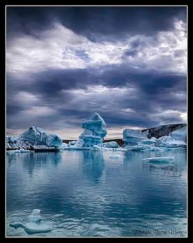 Blue Ice 2 by Michaela Preston