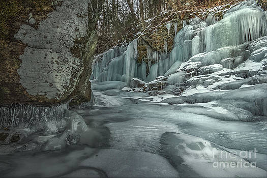 Blue Ice at Ozone by Aaron Campbell