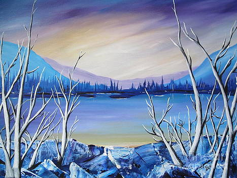 Blue Lake by Beverly Livingstone