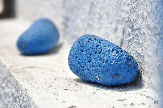 Blue Lava by Kathy Schumann