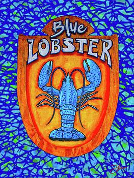 Blue Lobster by Dancin Artworks