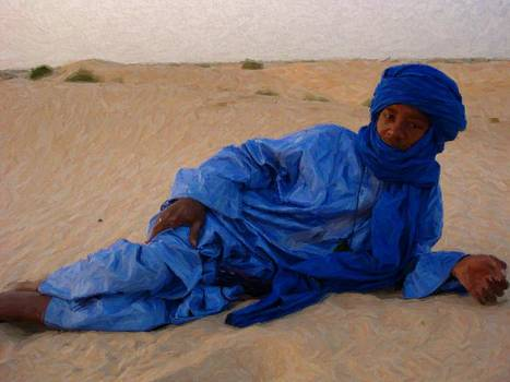 Blue Man of the Desert by Carol Sullivan
