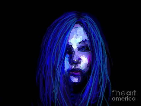 Blue by Maria Elena Gonzalez