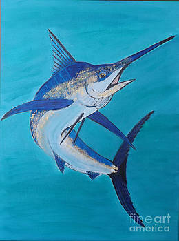 Blue Marlin by Marcus Hudson