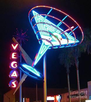 John Malone - Blue Martini Glass Las Vegas